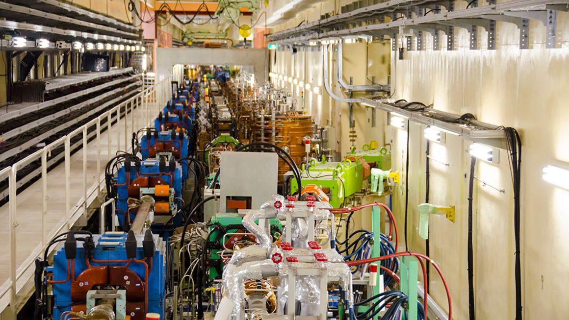Equipment surrounding the SuperKEKB installation. Source: KEK