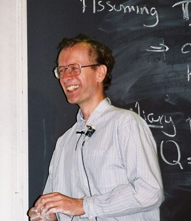 Andrew Wiles at a lecture in Boston, Massachusetts, 1995. Credit: Wikimedia Commons