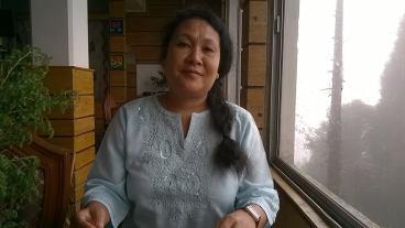 Pratibha Brahma, the UPP's sole woman candidate.