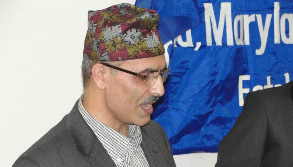 Acting Nepali ambassador to Saudi Arabia, Ananda Prasad Sharma. Credit: KathmanduPost