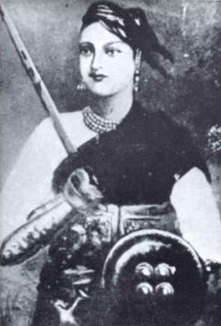 Rani Laxmibai. Credit: Wikimedia Commons