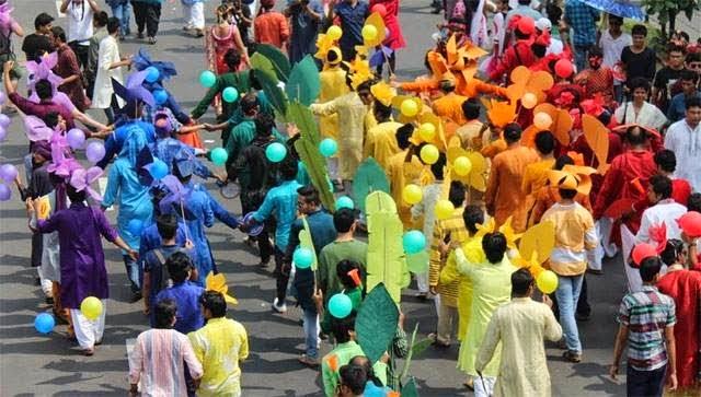 Bangladesh Rainbow Pride Rally, 2014. Courtesy: Gaylaxy.