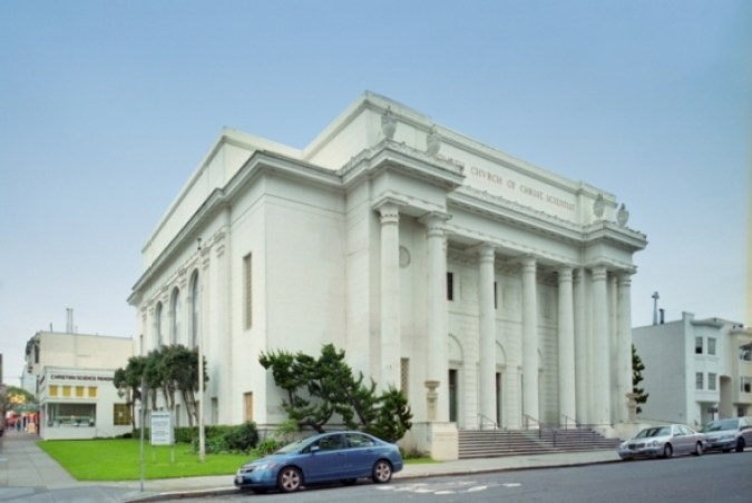 The Internet Archive, formerly a Christian Science church, in San Francisco Credit: Public Domain