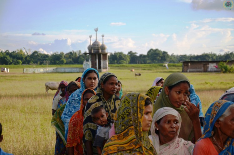 Muslims in Kokrajhar, Assam. Credit: IHH/Flickr CC 2.0