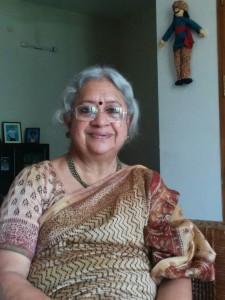 V. Vasanthidevi. Credit: Meera Srinivasan