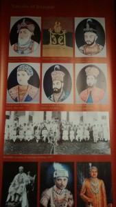An image from the exhibition: the Nawabs of Rampur.
