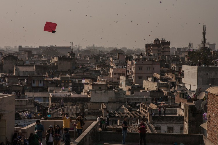 Ahmedabad rooftops. Credit: Flickr