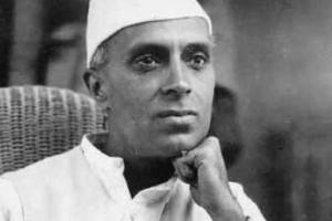 Jawaharlal Nehru. Credit: Wikimedia Commons.
