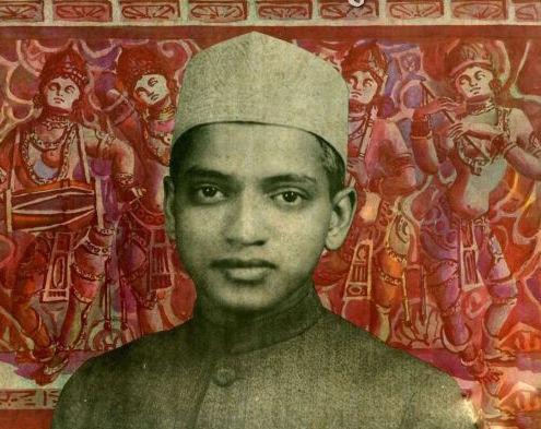 Cover of a 78 rpm recording of bhajans by D.V. Paluskar. Credit: saregama.com