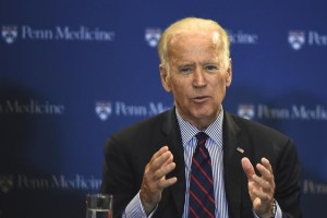 Vice President Joe Biden participates in a roundtable discussion at the University of Pennsylvania, Perelman School of Medicine and Abramson Cancer Center in Philadelphia, Pennsylvania January 15, 2016. Credit: Reuters/Mark Makela/File Photo
