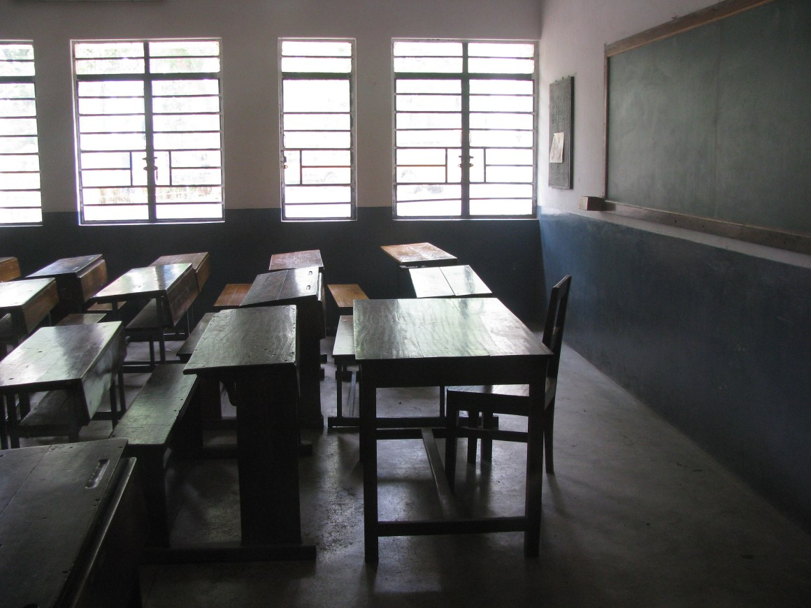 A classroom in Durgapur. Credit: shankaronline/Flickr, CC BY 2.0