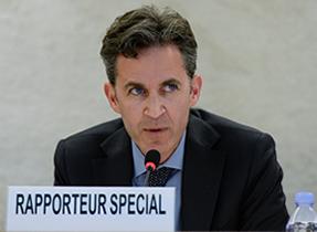 David Kaye. Credit: UN