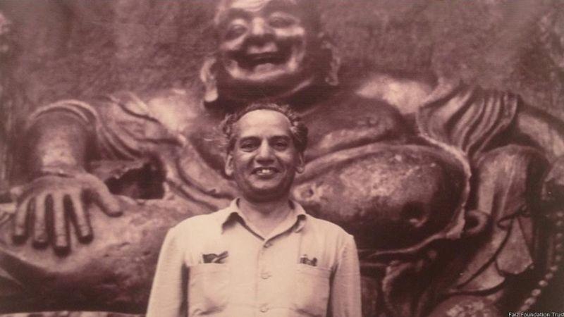 Poet Faiz Ahmad Faiz wrote the script, lyrics and dialogue of the film. Credit: BBC