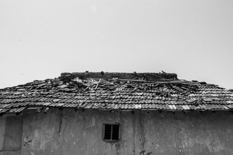 The home in Horekasa where Rajita had taken refuge and was killed. Credit: Javed Iqbal