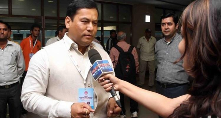 Sarbananda Sonowal, Assam's First BJP Chief Minister. Credit: Amarjyoti Borah.