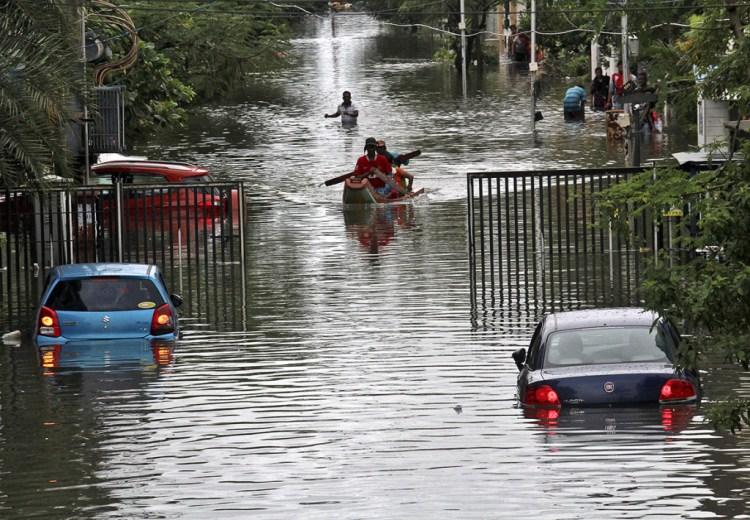 Chennai Floods. Credit: Reuters