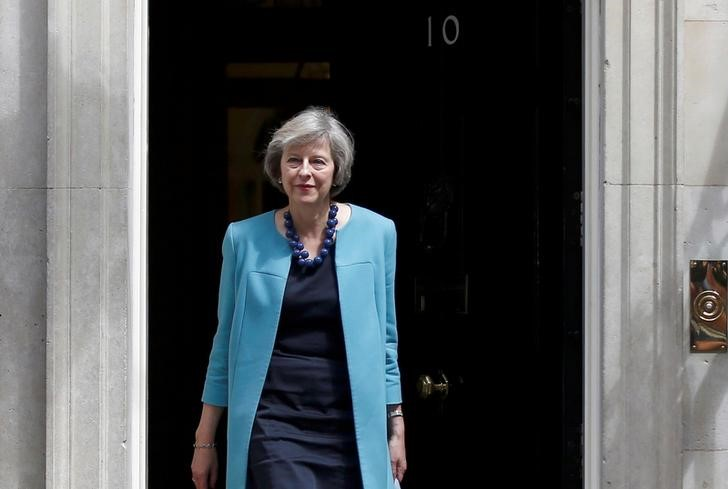 Britain's Home Secretary Theresa May leaves after a cabinet meeting in Downing Street in central London, Britain June 27, 2016. Credit: Reuters