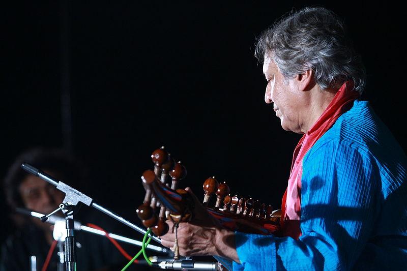 Sarod maestro Ustad Amjad Ali Khan. Credit: Wikimedia Commons