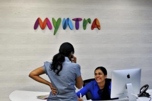 The acquisition was done through Flipkart's fashion unit Myntra. Credit: Reuters