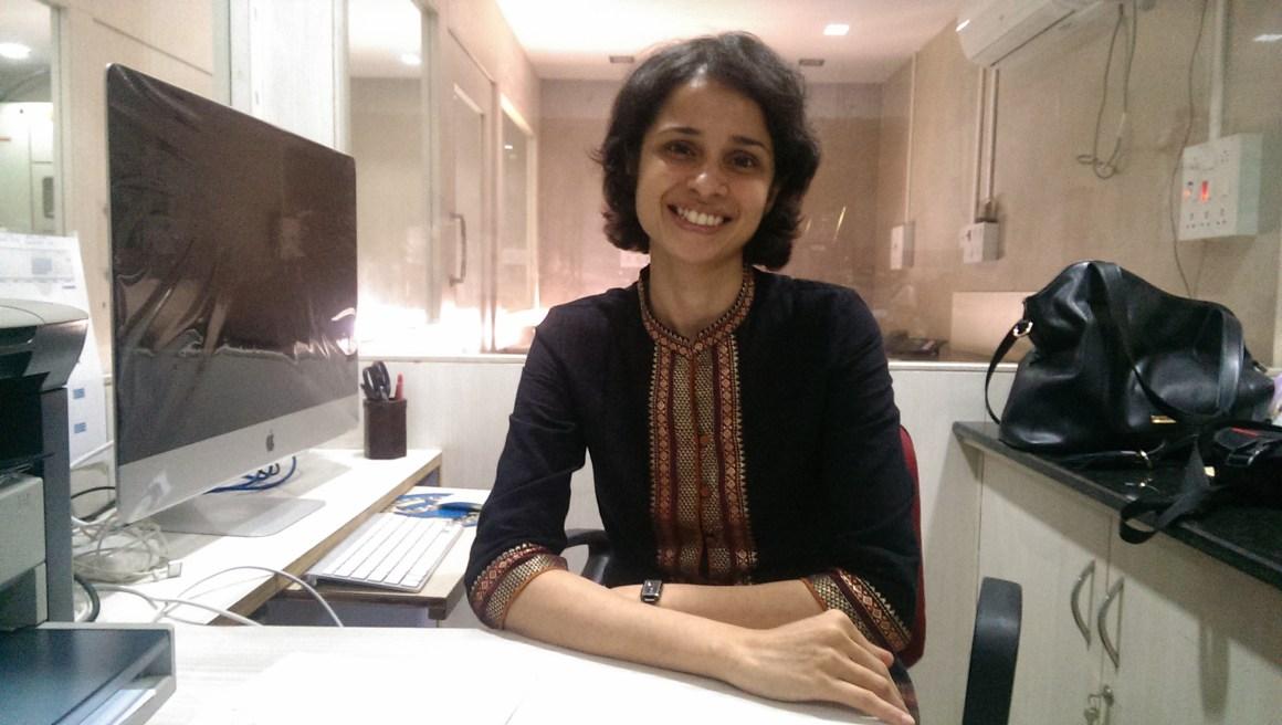 Prajakta Dandekar, who works on organ-on-chip technology at ICT Mumbai. Credit: Nandita Jayaraj/TLoS
