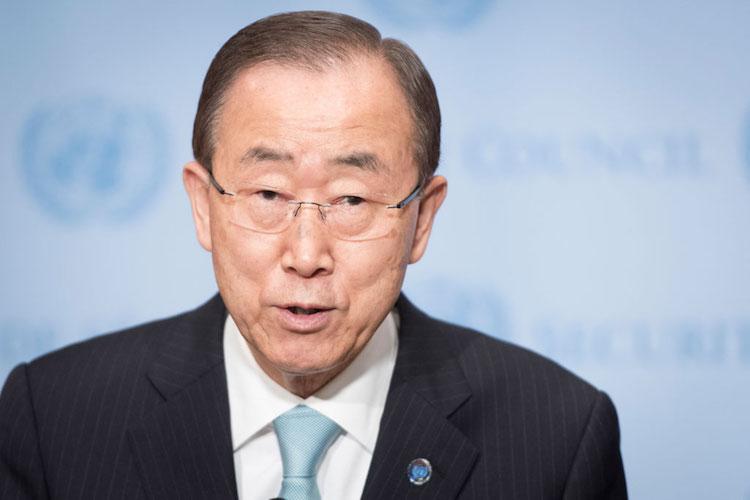File photo of Secretary-General Ban Ki-moon. Credit: UN Photo/Mark Garten
