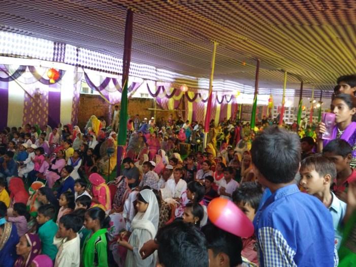 The inauguration ceremony of Apna Ghar Colony. Credit: Jahnavi Sen