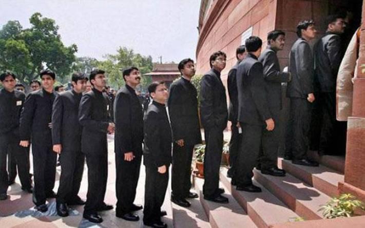 New IAS civil servants headed for training. Credit: PTI