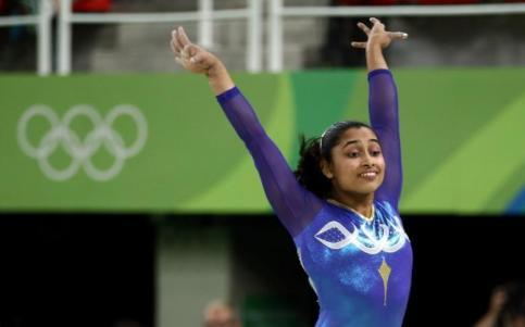 2016 Rio Olympics - Artistic Gymnastics - Final - Women's Vault Final - Rio Olympic Arena - Rio de Janeiro, Brazil - 14/08/2016. Dipa Karmakar of India competes. Credit: Reuters/Marko Djurica