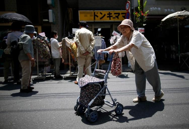 More than 25% of Japan's population is 65 or older. Credit: Reuters