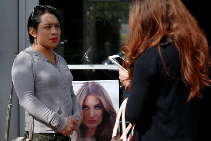 Gaby Milena Rivera, a Guatemalan immigrant living in the New York, experienced violence due to her being a transgender in August. Credit:Reuters