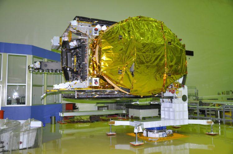 GSAT-18. Credit: ISRO