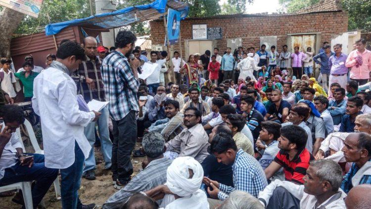 Jignesh Mewani at Saroda village. Credit: Damayantee Dhar