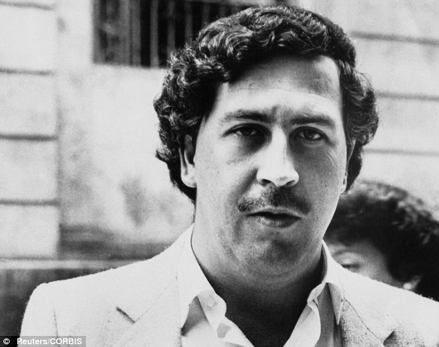 The real Pablo Escobar. Credit: Reuters