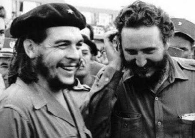 Che Guevara and Fidel Castro. Credit: Twitter