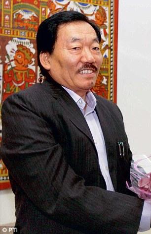 Pawang Chamling. Credit: PTI
