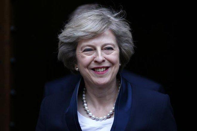 Theresa May. Credit: Reuters/Files