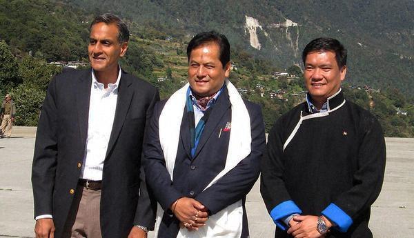 File photo of US Ambassador Rich Verma in Tawang, Arunachal Pradesh