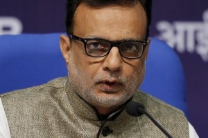 Revenue secretary Hasmukh Adhia. Credit: Reuters