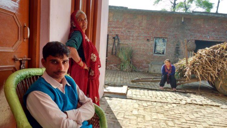 Sansar Chand's house. Credit: Rajan Pandey