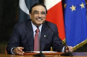 Asif Ali Zardari. Credit: Reuters