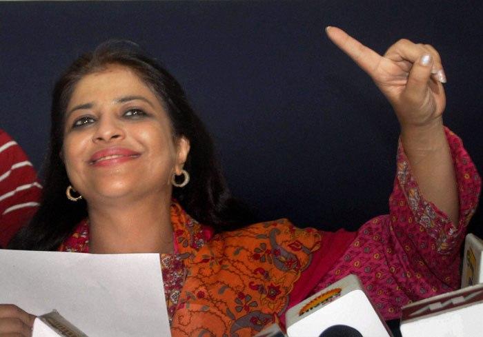 Shazia Ilmi. Credit: PTI