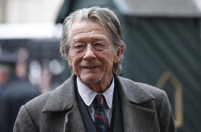 John Hurt Credit: Reuters/Suzanne Plunkett
