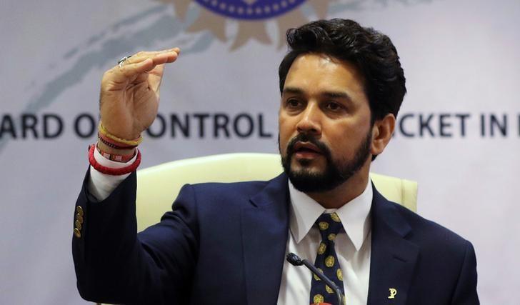 Anurag Thakur. Credit: Reuters/Shailesh Andrade