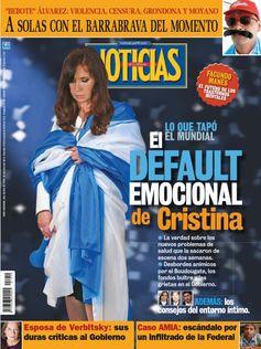 'Cristina's emotional default'. Credit: Scribd.com