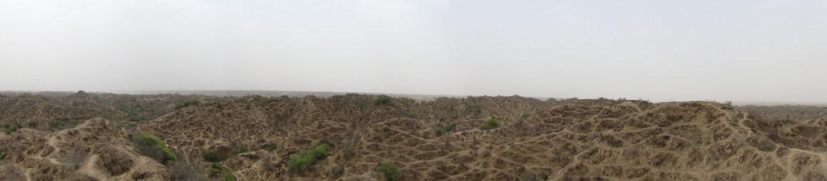 Overgrazed ravines. Credit: Tarun Nair