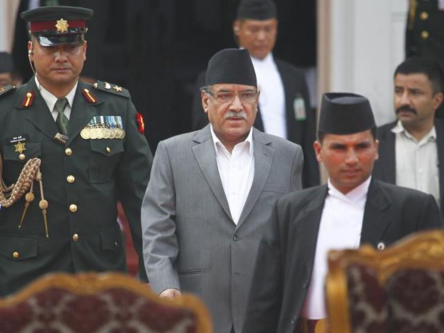Nepal's prime minister, Pushpa Kamal Dahal 'Prachanda'. Credit: Reuters