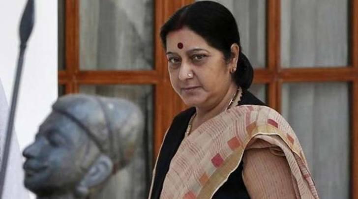 External affairs minister Sushma Swaraj. Credit: Reuters/Files