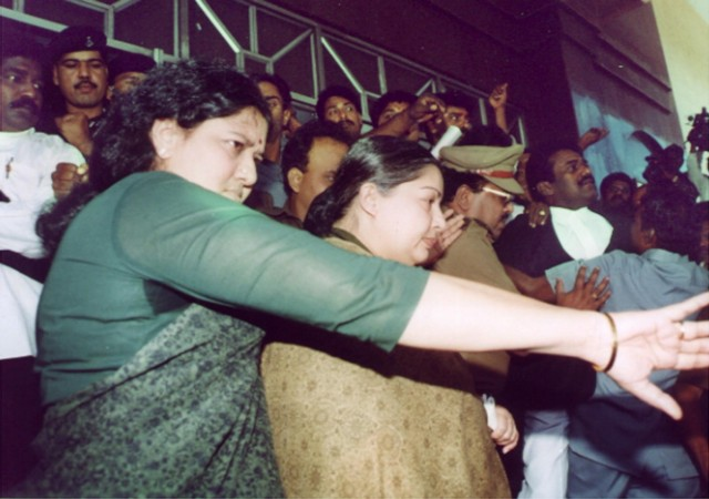 J. Jayalalithaa and V.K. Sasikala. Credit: Reuters