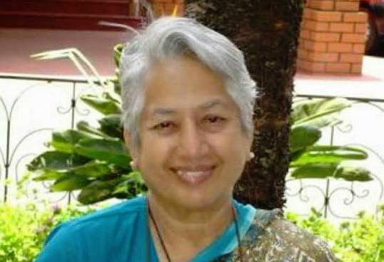 Srilata Swaminathan. Courtesy: Facebook/Kavita Krishnan
