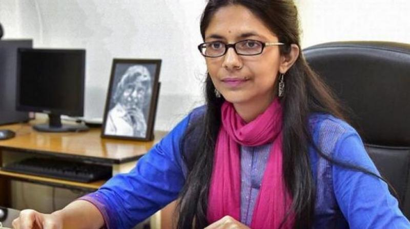 Delhi Commission for Women chairperson Swati Maliwal. Credit: PTI
